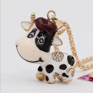 Cute Cow Necklace